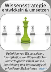 Wissensstrategie entwickeln und umsetzen